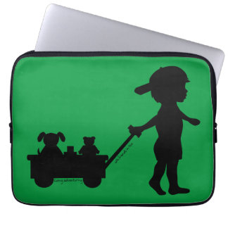 Adventuring With Friends Laptop Sleeves
