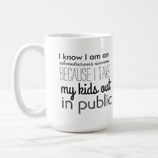 Adventurous Woman Coffee Mug