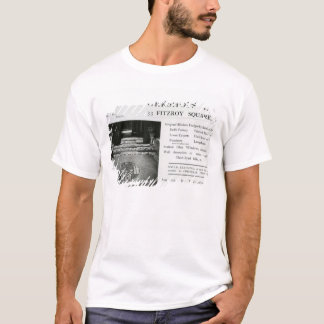 Adverisement for the Omega Workshops Ltd T-Shirt