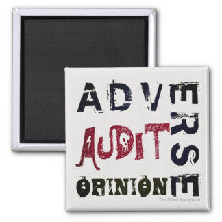 """""""Adverse Audit Opinion"""" Magnet"""