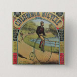 Advert for the Columbia Bicycle 2 Inch Square Button