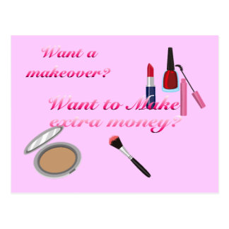 Advertise Cosmetics Postcard
