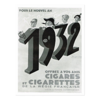 Advertisement, Cigars, Cigarettes Postcard