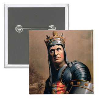 Advertisement for 'John McCullough as Richard III' 2 Inch Square Button