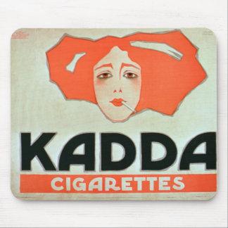 Advertisement for 'Kadda Cigarettes' (colour litho Mouse Pads