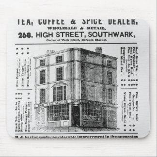 Advertisement for Robert Jones, Tea Mouse Pad