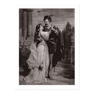 Advertisement for 'Romeo And Juliet', at the Opera Postcard