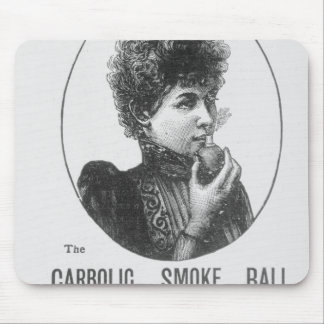 Advertisement for the Carbolic Smoke Ball Mousepads