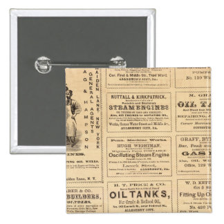 Advertisements 2 Inch Square Button