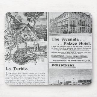 Advertisements for La Turbie Restaurant, Mouse Pad