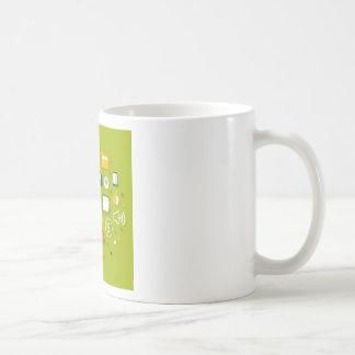 Advertising a megaphone coffee mug