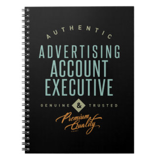 Advertising Account Executive Notebook