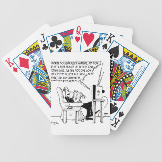 Advertising Cartoon 2133 Bicycle Playing Cards