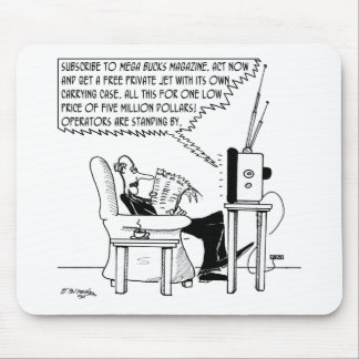 Advertising Cartoon 2133 Mouse Pad