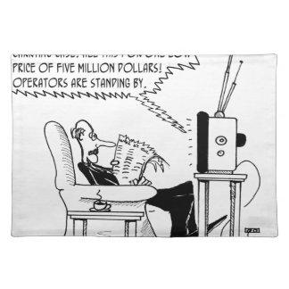 Advertising Cartoon 2133 Placemat