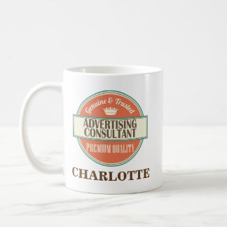 Advertising Consultant Personalized Gift Coffee Mug