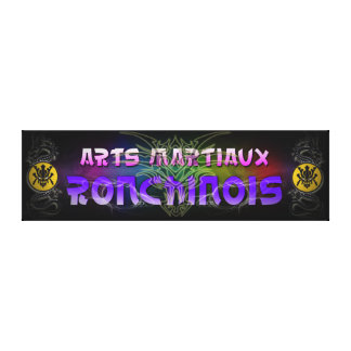 Advertising fabric Ronchinois Martial arts Canvas Print