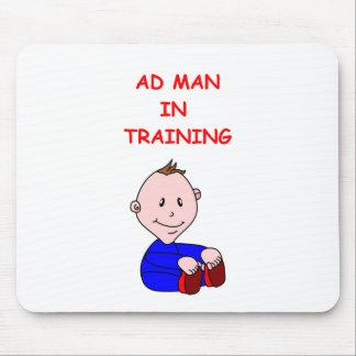 advertising mousepad