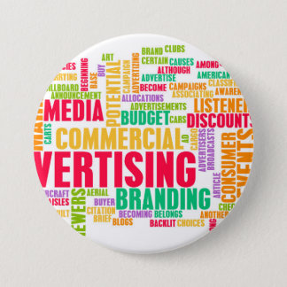 Advertising Online and in Traditional Media Method 3 Inch Round Button