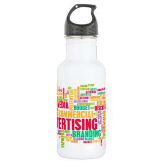 Advertising Online and in Traditional Media Method 532 Ml Water Bottle