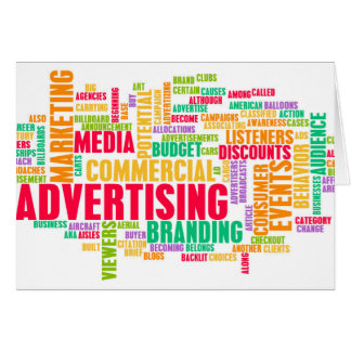 Advertising Online and in Traditional Media Method Card