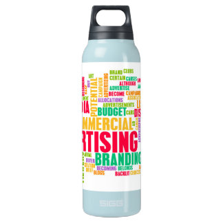 Advertising Online and in Traditional Media Method Insulated Water Bottle
