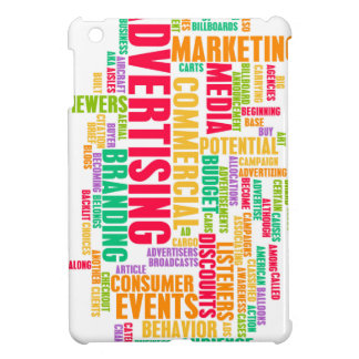 Advertising Online and in Traditional Media Method iPad Mini Cover