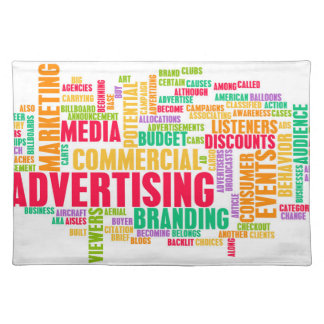 Advertising Online and in Traditional Media Method Placemat