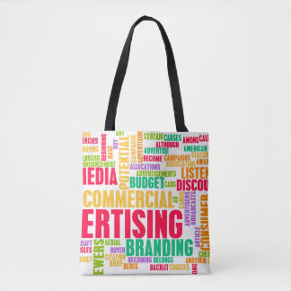 Advertising Online and in Traditional Media Method Tote Bag