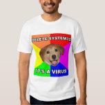 Advice Dog says: Delete the Virus Tshirt