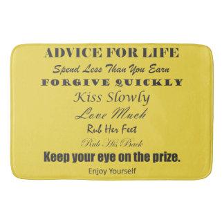 Advice For Life Bath Mat