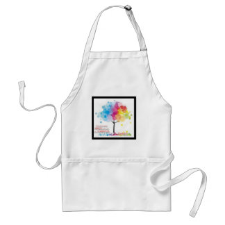 Advocate for art and parks! standard apron