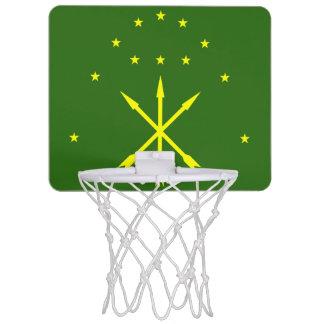 Adygea Flag Mini Basketball Hoop