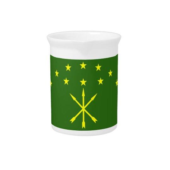 Adygea Flag Pitcher