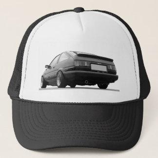 ae86 hachi corolla toyota sprinter trueno trucker hat