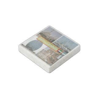 AE United Arab Emirates - Abu Dhabi - Aldar Stone Magnets