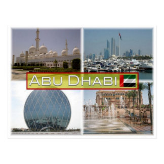 AE United  Arab Emirates -  Abu Dhabi - Postcard