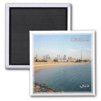 AE # United Arab Emirates Dubai - Panorama Magnet