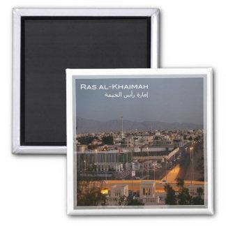 AE # United Arab Emirates - Ras al-Khaimah Square Magnet