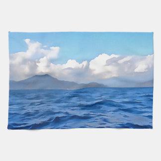 Aegean Blue Kitchen Towel