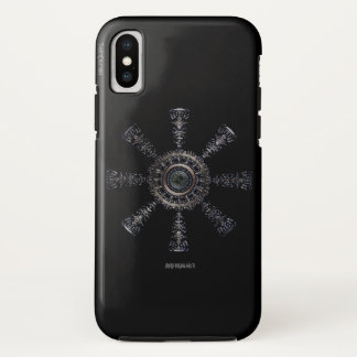 ☼Aegishjalmur – Ancestral and Spiritual Rune☼ iPhone X Case