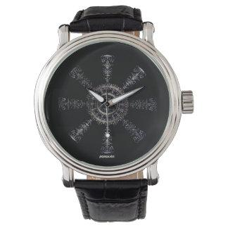☼Aegishjalmur – Ancestral and Spiritual Rune☼ Watch