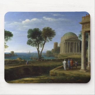 Aeneas in Delos by Claude Lorrain Mouse Pad