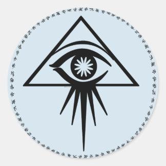 Aeon all-seeing eye Sticker (Blue)