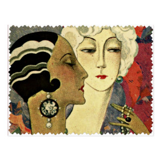 Aer Deco Ladies Postcard