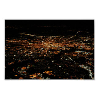 Aerial Baltimore 8x12 Poster