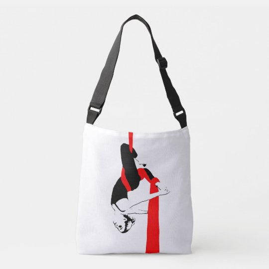 Aerial Dance Cross Body Bag -- Silks and Hoop