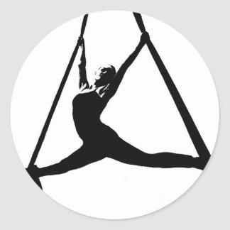 Aerial Dance Stickers