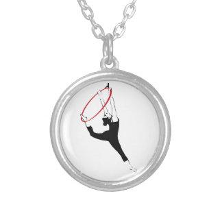 Aerial Hoop Necklace