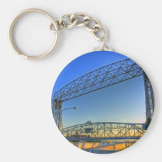 Aerial Lift Bridge Keychain